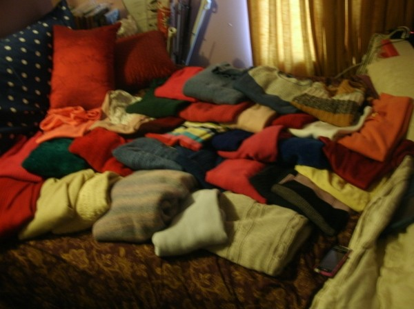 33 sweaters